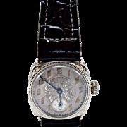 14K White Gold Walthan Wrist Watch- Circa 1920's