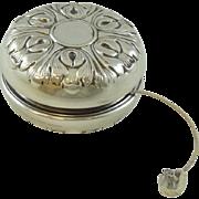 Vintage  Gorham Sterling Silver Yoyo Repousse - 0412