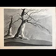 "Ellison Hoover Original Lithograph, ""Corsican Morning"""