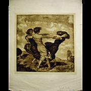 """""""Reigen"""" by Franz von Stuck"""