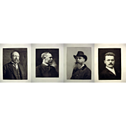 Set of 4 Classic Portraits