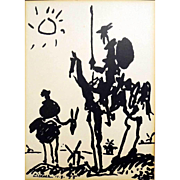 Don Quichotte by Picasso