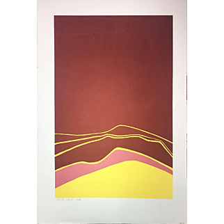"""Claude Dante Silkscreen, """"Eclipse"""" (Ed.44/50)"""