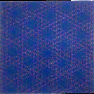 "Josef Levi Silkscreen, ""Purple"" (N-GR2B)"