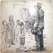 Thomas Fogarty  Ink Sketch