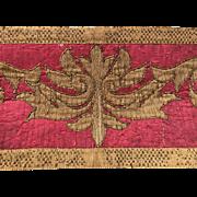 17th century Italian Embroidery