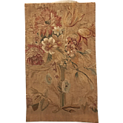18th century French Tapestry pillow case