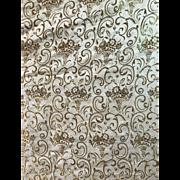 17th century Russian Metallic Brocade