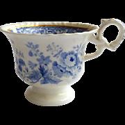 Minton blue and white cup, Felspar pattern n.24 c.1820-40