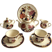 Mason's Blue Mandalay Miniature Tea Set
