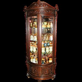 R. J. Horner (New York) Oak Corner Cabinet