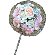 Beautiful Antique FF Flower Posy for your French Fashion Doll or Bebe. 3""
