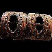 Copper Buckles by Fishel Nessler Co.