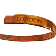 Sabona design London copper wristband bracelet.