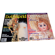 Doll World Issues from February and December l993
