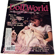 Doll World issue from December l986