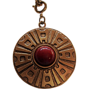 Sarah Coventry Medallion Necklace from 1978 Collection