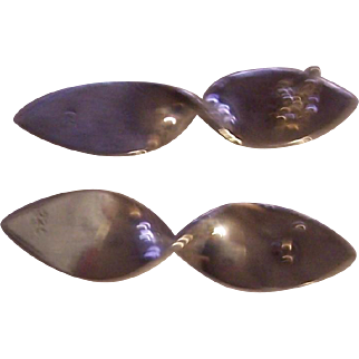 Sterling Silver 925 marked Vintage Earrings