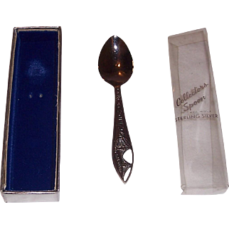 Sterling Silver Collectors Spoon of San Francisco