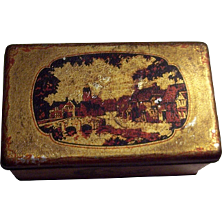 Vintage Riley Brothers Toffee Tin from Halifax England.