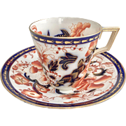 Antique Coalport teacup with Japanese design, 1880s
