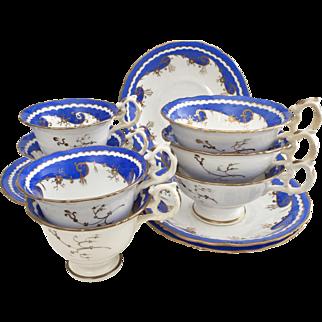 Davenport early 19th Century coffee and tea set, ca 1830