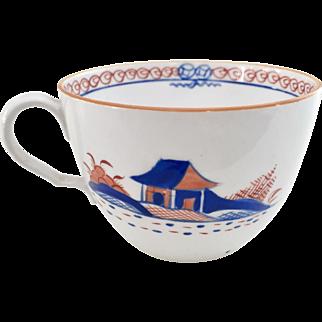Orphaned Spode teacup, bute shape Chinese patt 488, ca 1805