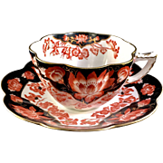 Wileman teaset, Fairy shape with Japan pattern, 1910