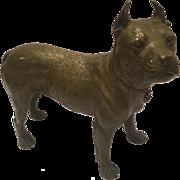 Fantastic Large, Heavy Antique Kolbinger Signed Bronze Dog