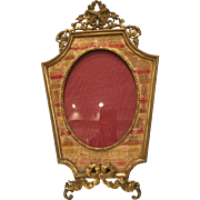 Bronze Picture Frame With An Unusual Shape