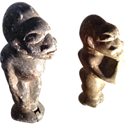 Nomale from Sierra Leon (pair), ancient stone sculptures