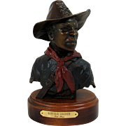 Sculpture Buffalo Soldier by Tom Moss 1/50