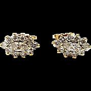 18kt Yellow Gold Kurt Wayne Diamond Earrings