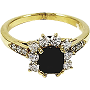 18kt Yellow Gold Kurt Wayne Ruby and Diamond Ring
