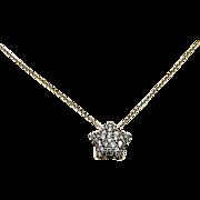 18kt Yellow Gold Kurt Wayne Diamond Star Pendant or Charm