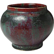 Art Nouveau Oxblood Red Pot by Pierre-Adrien Dalpayrat