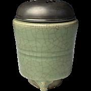 Ming Dynasty Longquan Celadon Incense Burner