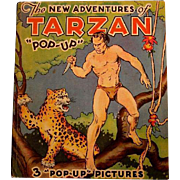 "The New Adventures of Tarzan ""Pop-up"": Edgar Rice Burroughs/Publ: Pleasure Books, Inc./1935"