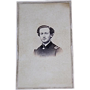 Union Civil War officer, New York Captain from Rochester, NY with back mark, 1861-1865
