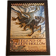 The Legend of Sleepy Hollow, Washington Irving, Illustr. by Arthur Rackham, First American Ed.