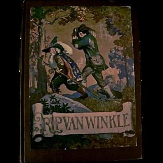 Rip Van Winkle, N.C. Wyeth illustrator, First Edition, 1921
