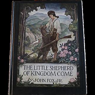 The Little Shepherd of Kingdom Come, N.C. Wyeth illustrator, 1st Ed., 1931