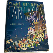 Walt Disney's Fantasia, First Edition, 1940, Original Dust Jacket