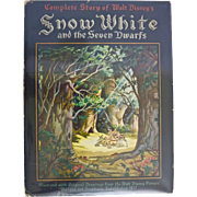 Snow White and the Seven Dwarfs, Walt Disney, 1937, First Edition
