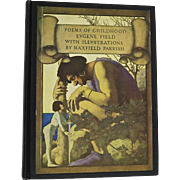 Poems of Childhood by Eugene Field, Maxfield Parrish Illustrations