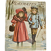 Playmates MA-LE-NA Booklet No. 110, ca: 1890