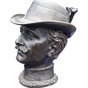 Vienna Bronze of Alexander Nehr with Removable Hat Section, Important Castle Bronze Art Master ca. 1900