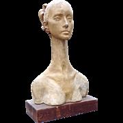 Sidney Simon Terracotta Famous Ballerina Bust -- New York Artist