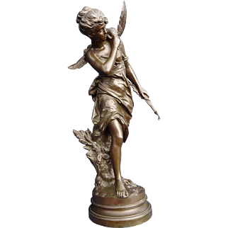 Superior Quality 1890 French Rotating Bronze Of Diana The Huntress By Mathurin Moreau