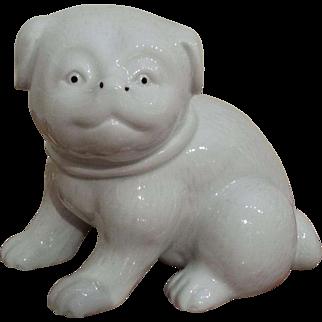 Vintage Porcelain Figure of Dog